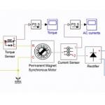 شبیه سازی موتور سنکرون مغناطیس دایم PMSM