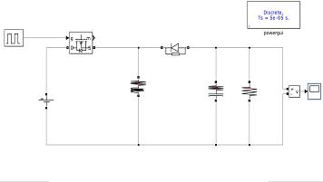 شبیه سازی مبدل باک / بوست ساده در نرم افزار MATLB