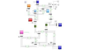شبیه سازی یک شبکه توزیع استاندارد در MATLAB