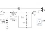 شبیه سازی یک ترانسفورماتور اندازه گیری CT در حالت اشباع در نرم افزار Matlab