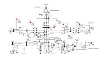 شبیه سازی فیدر 13 باسه IEEE بدون تثبیت کننده ولتاژ