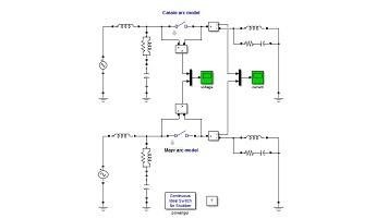 شبیه سازی تاثیر خطای اتصال کوتاه بر روی دیژنکتور (Circuit Breaker) در سیمولینک متلب