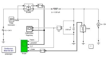 طراحی منبع تغذیه سوئیچینگ به کمک MOSFET در محیط سیمولینک متلب