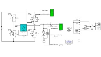 کنترل سرعت موتور DC به کمک ترانزیستورهای BJT در حالت پل H