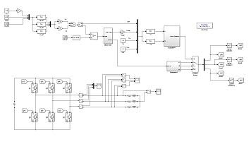 شبیه سازی اینورتر سه فاز به کمک مدولاسیون پهنای پالس فضای برداری (SVPWM) دو لایه در نرم افزار متلب