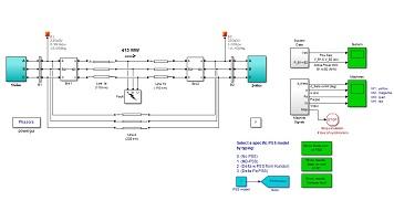 شبیه سازی عملکرد پایدارساز سیستم قدرت (PSS) برای یک سیستم شامل دو منطقه در Matlab