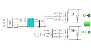 شبیه سازی استفاده از فیلتر هارمونیکی اکتیو (AHF) جهت تغذیه بار غیر خطی شبکه قدرت در Matlab