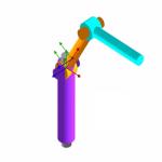 نرم افزار آنالیز سه بعدی ربات در محیط متلب