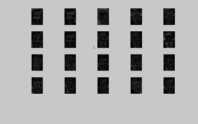 تشخیص چهره به کمک روش NMF در نرم افزار Matlab