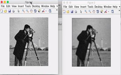 بر طرف کردن تصاویر تار در نرم افزار Matlab
