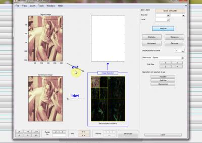 جعبه ابزار تبدیل موجک (wavelet) در نرم افزار متلب