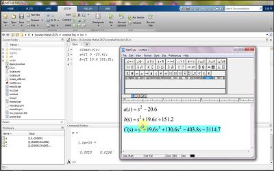 عملیات ریاضی روی چند جملهای ها در نرم افزار matlab